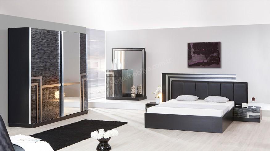 Golf Modern Yatak Odası Siyah