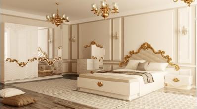 İzvor Avangard Altın Varak Yatak Odası