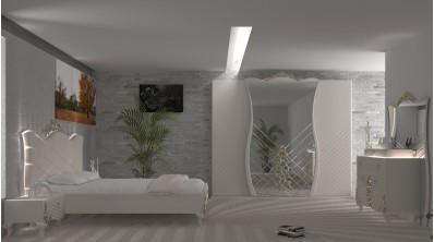 Saraylı Avangarde Yatak Odası Takımı