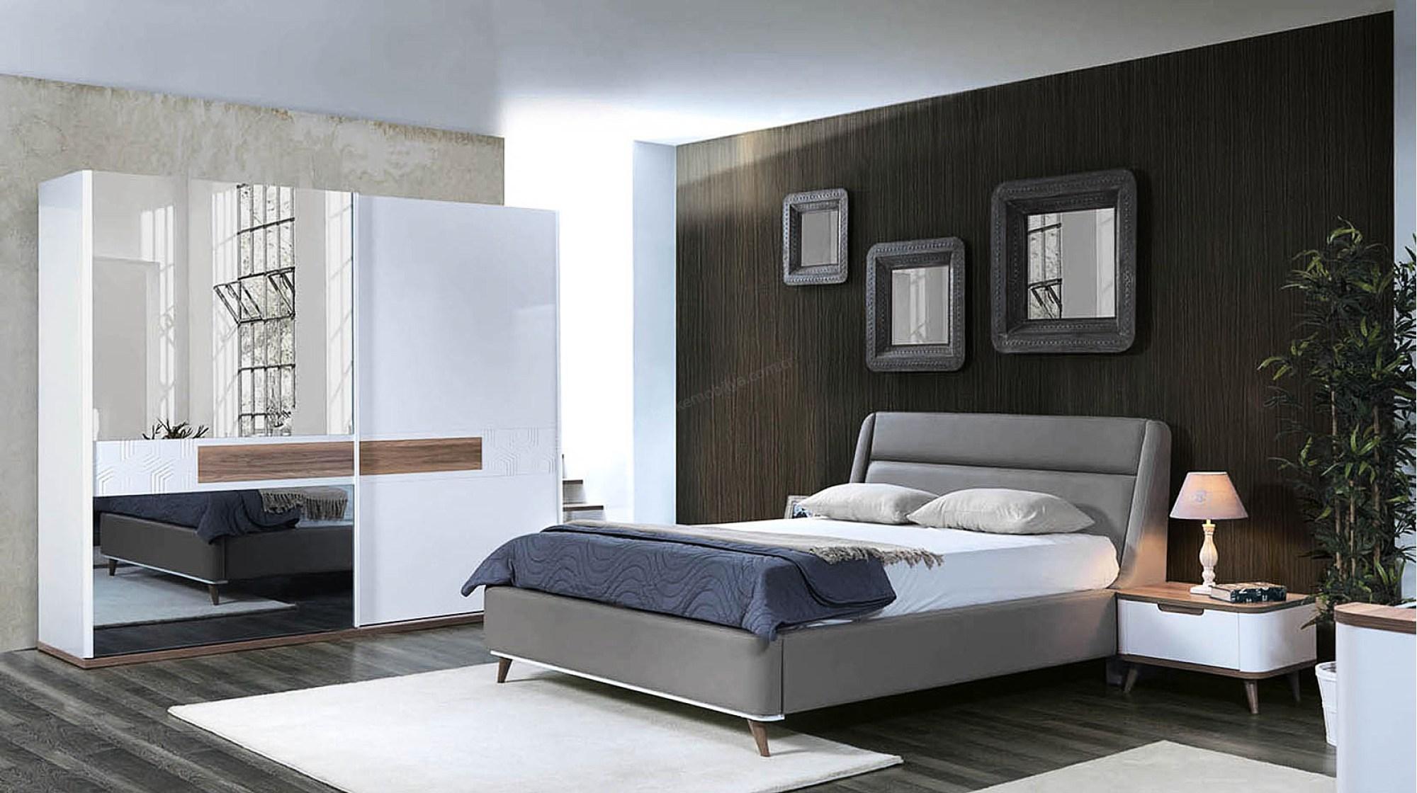 Yatak odası dekorasyonu için modern öneriler