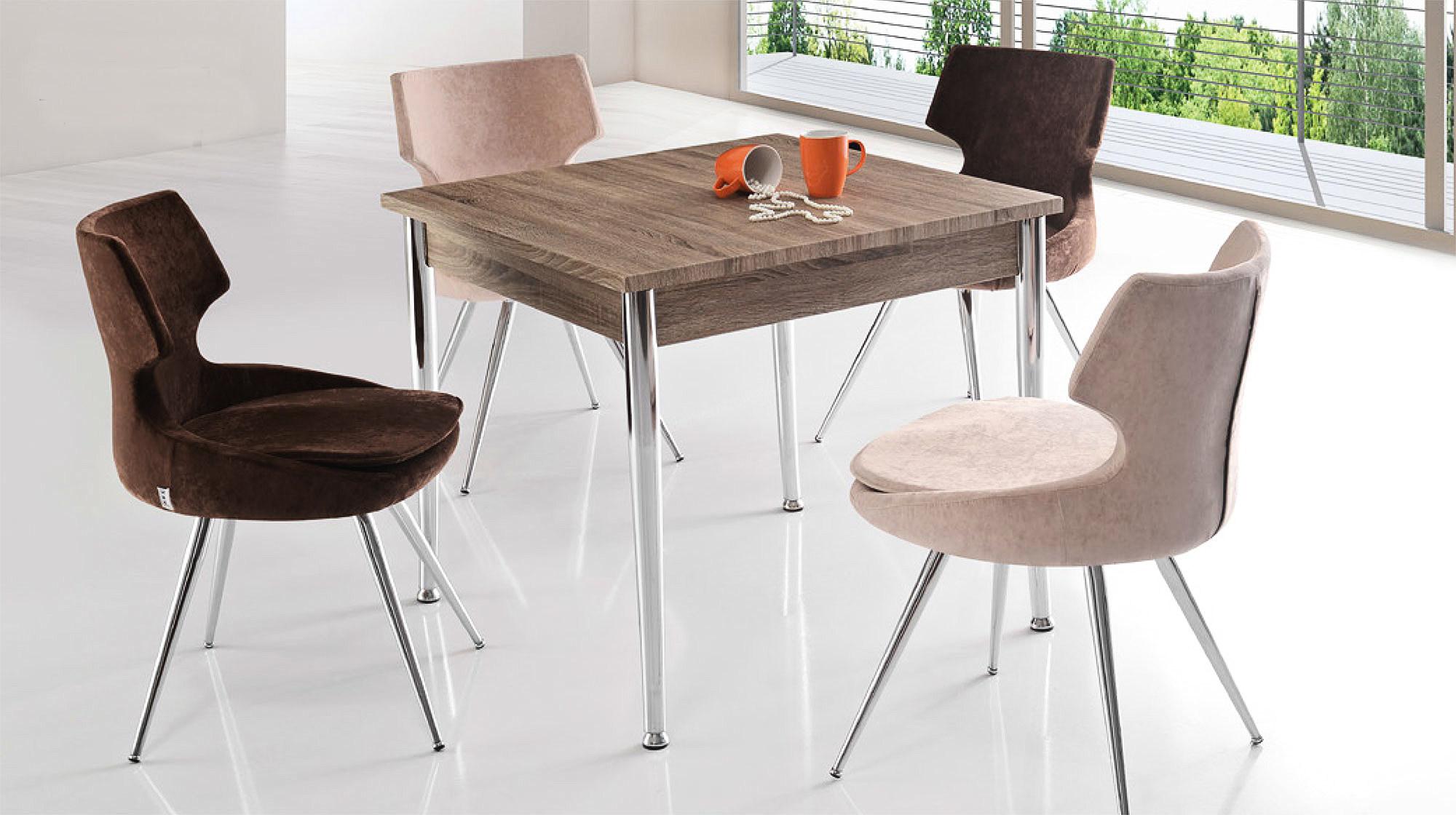 vega mutfak masa doruk sandalye seti - masa sandalye - berke mobilya