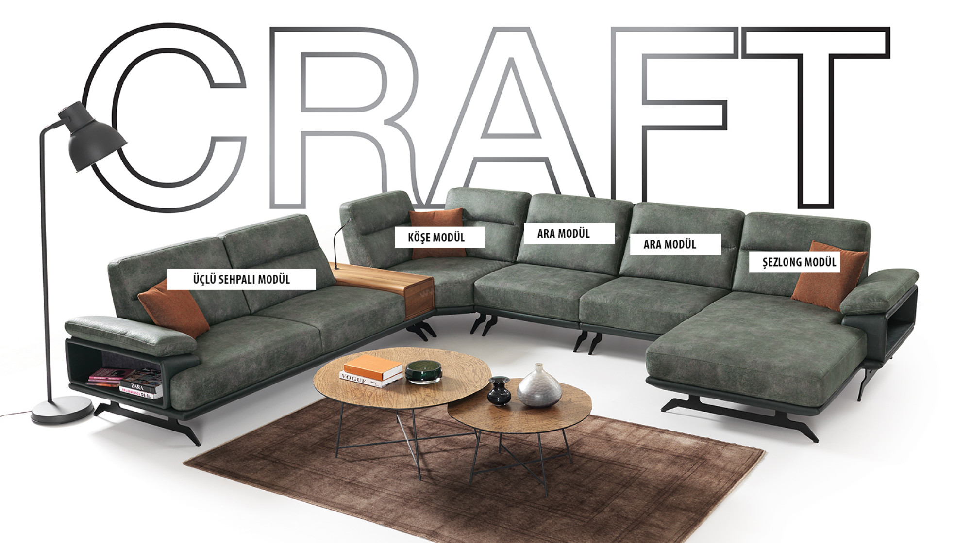 Craft Relax Kose Koltuk Takimi Modern Kose Takimlari Berke Mobilya