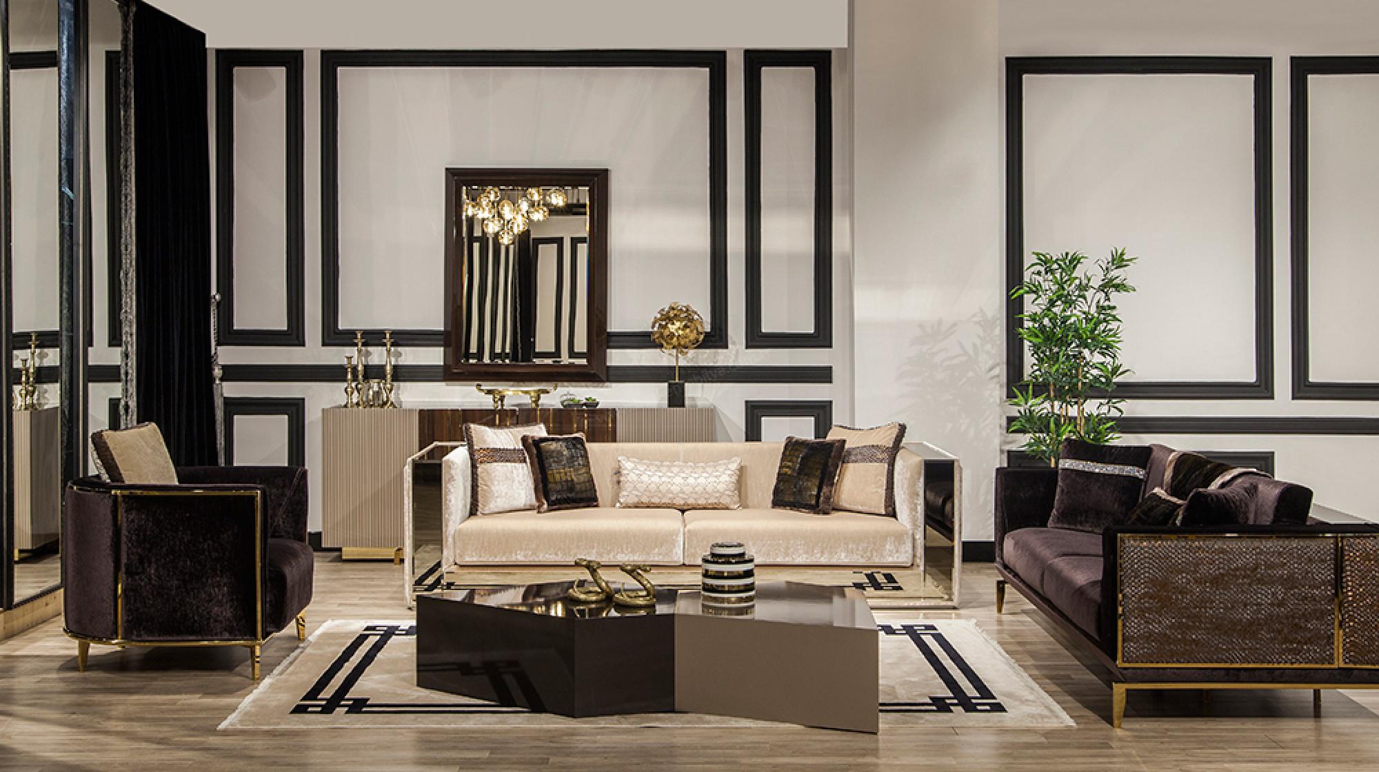 Vitra Luxury Koltuk Takimi Modern Koltuk Takimlari Berke Mobilya