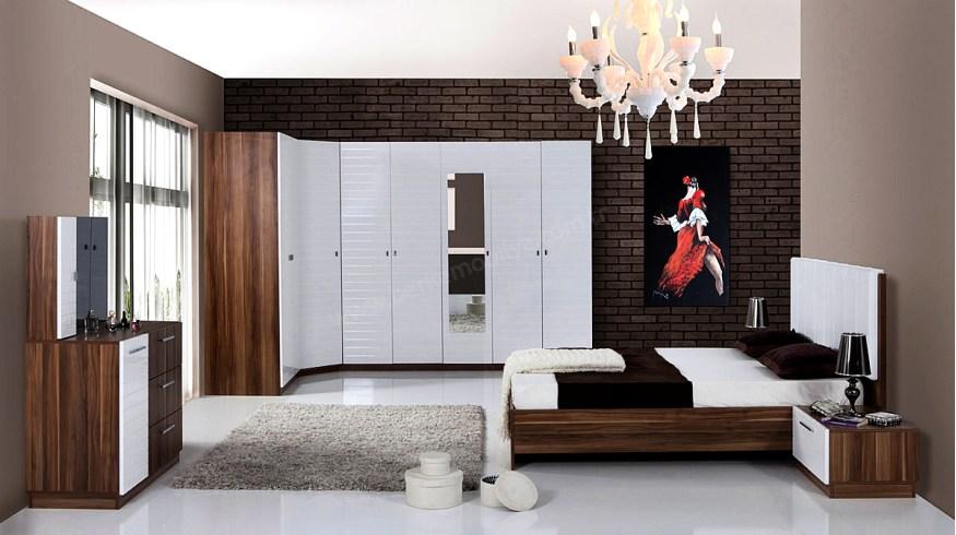 Nell Köşe Yatak Odası Takımı