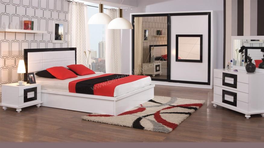 Atlantis Yatak Odası Takımı Beyaz