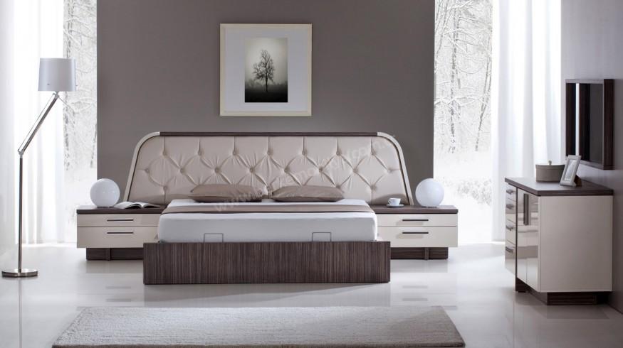 Zebrano Modern Yatak Odası Takımı