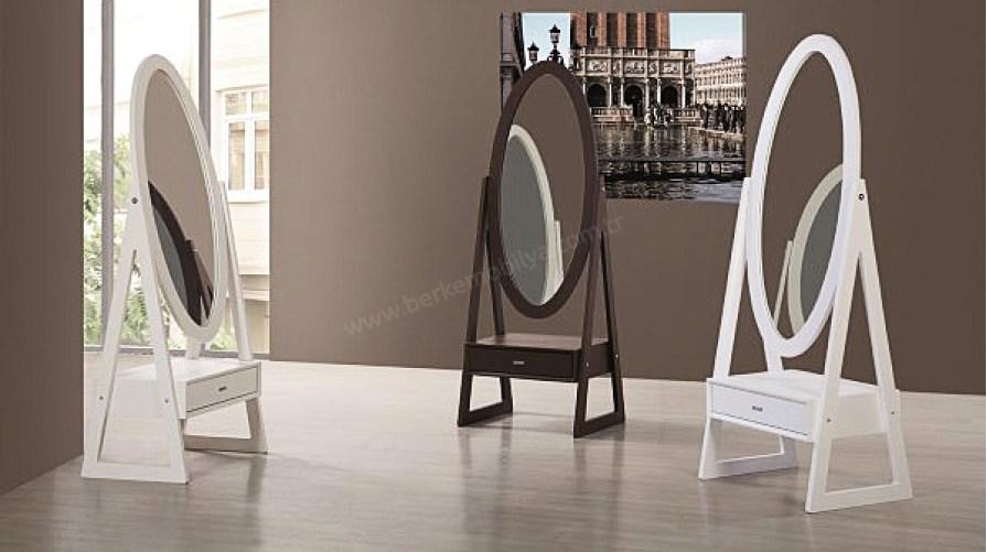 Elips Ayna Çekmeceli