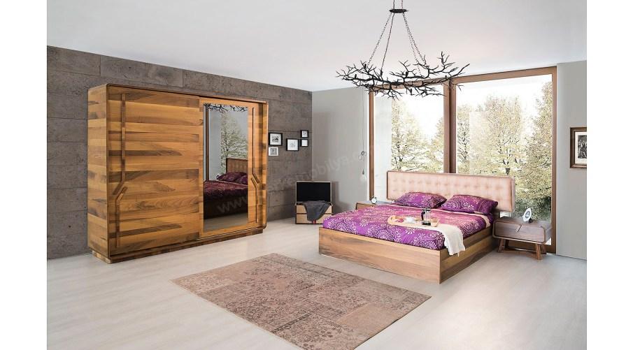 Himalaya Yatak Odası Takımı Ahşap