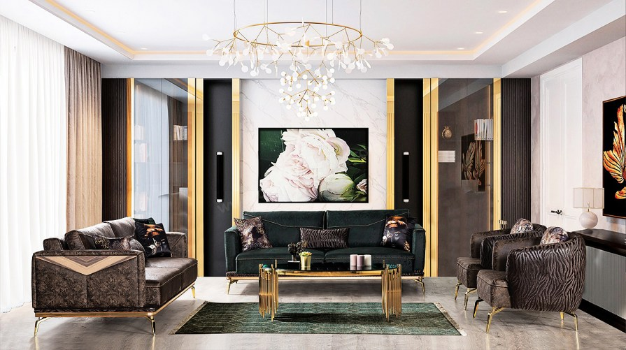Viola Koltuk Takımı Luxury