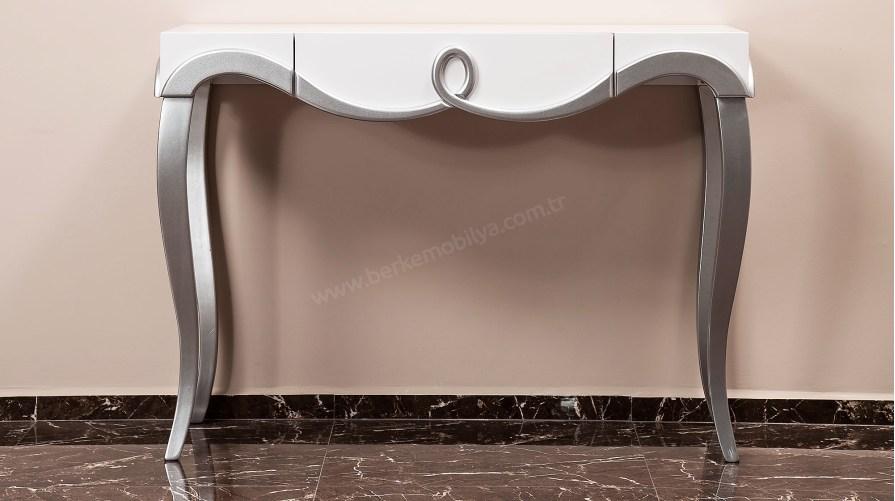 Bronze Dresuar Beyaz - Gümüş