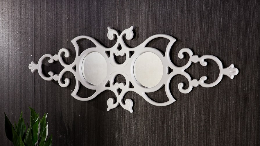 Elif Dekoratif Ayna Beyaz
