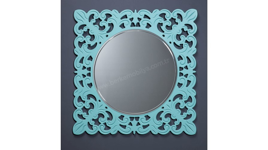 Defne Dekoratif Ayna Yeşil