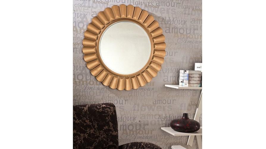 Güneş Dekoratif Ayna Altın