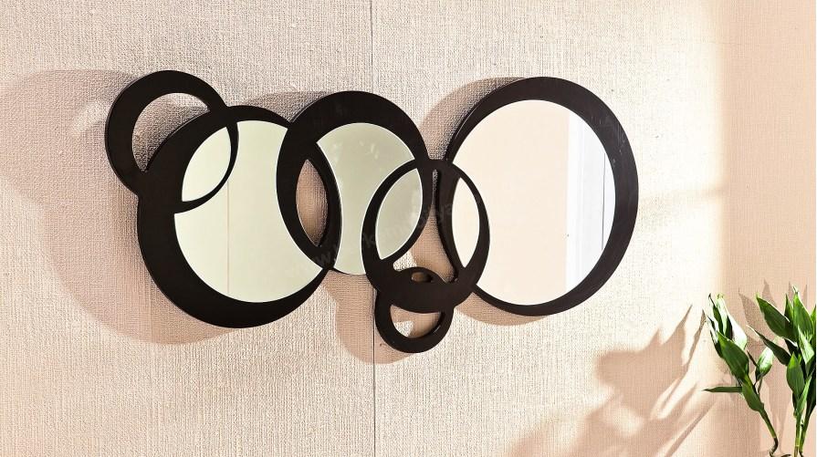 Halka Dekoratif Ayna Siyah