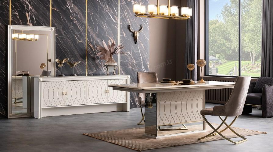 Bentley Luxury Yemek Odası Takımı