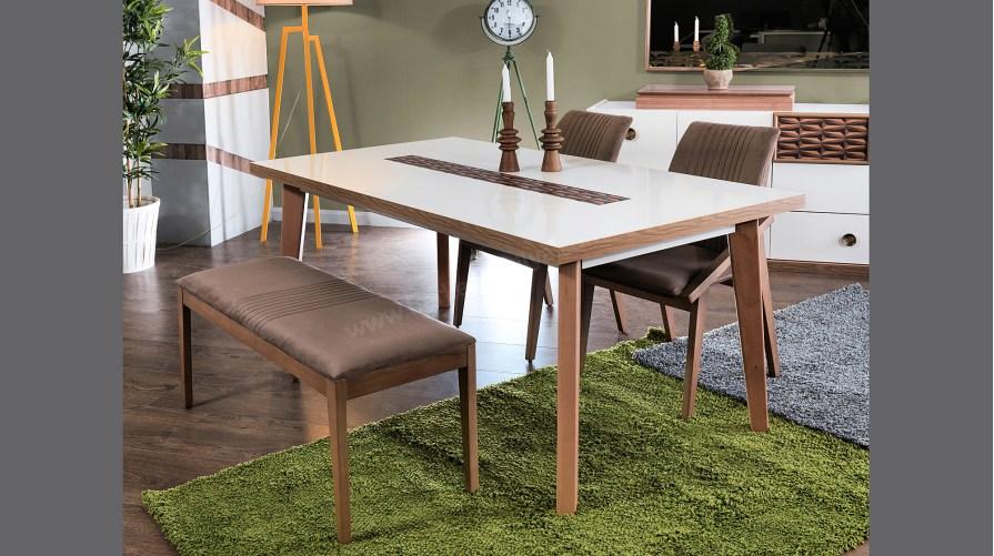 Alaçatı  Yemek Masası Sandalye Bench