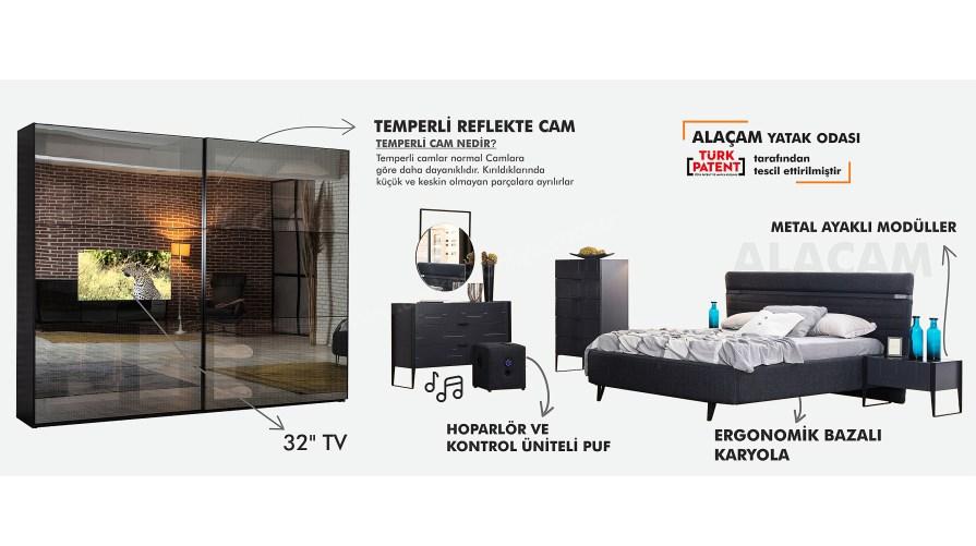 Alaçam Tv Yatak Odası Takımı