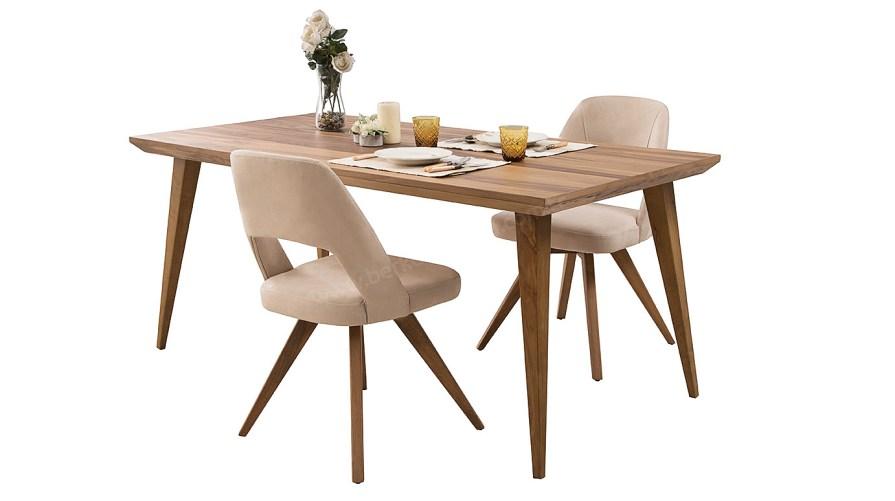 Alba Ahşap Yemek Masası Sandalye
