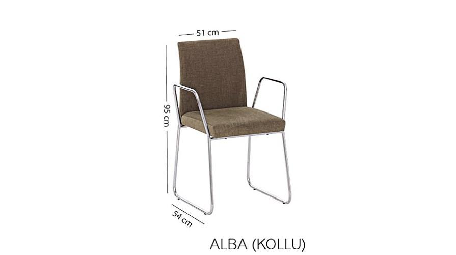 Alba Kollu Sandalye