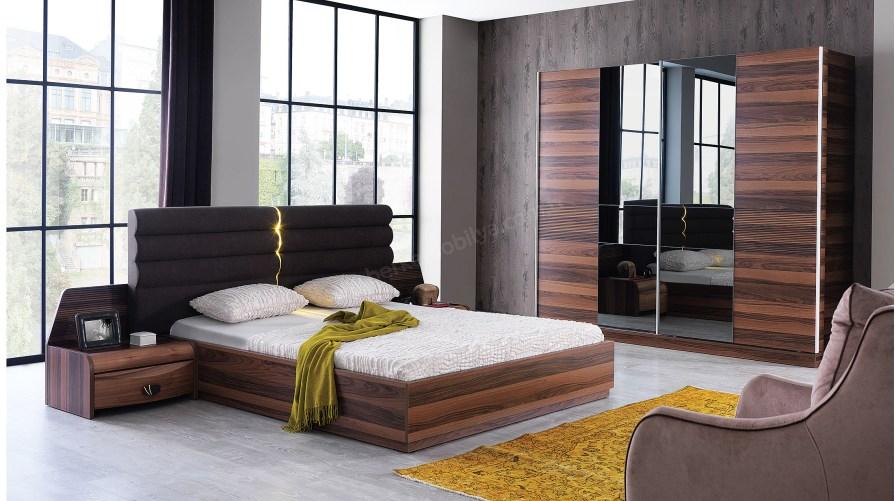 Moda Ceviz Yatak Odası Takımı