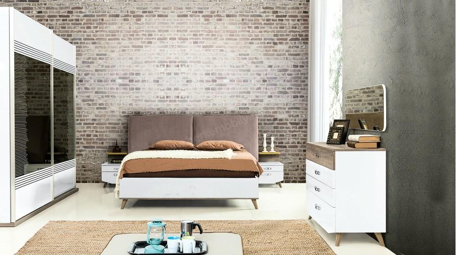 Almina Modern Yatak Odası Takımı Outlet