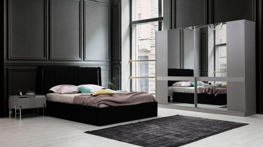 Alya Ahşap Yatak Odası Takımı