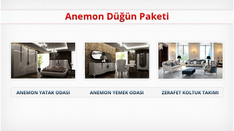 Anemon Lüks Düğün Paketi