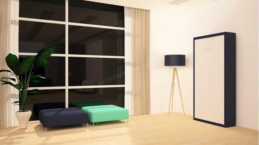 Apple Premium Duvar Yatağı Dikey