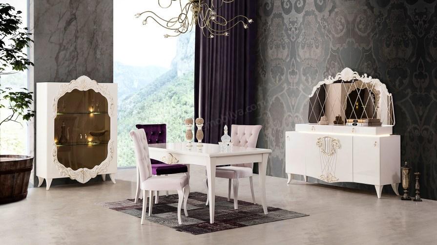 Şah Avangarde Yemek Odası Takımı