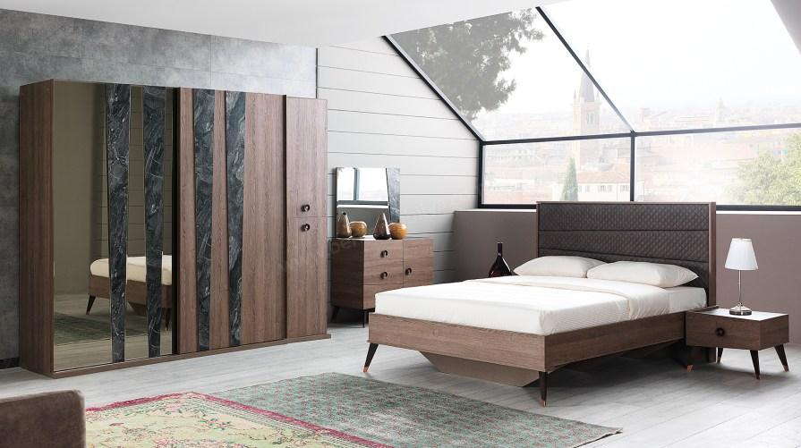 Karşıyaka Ceviz Yatak Odası Takımı