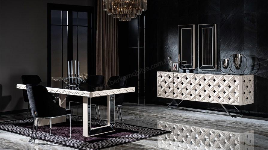 Asus Luxury Yemek Odası Takımı