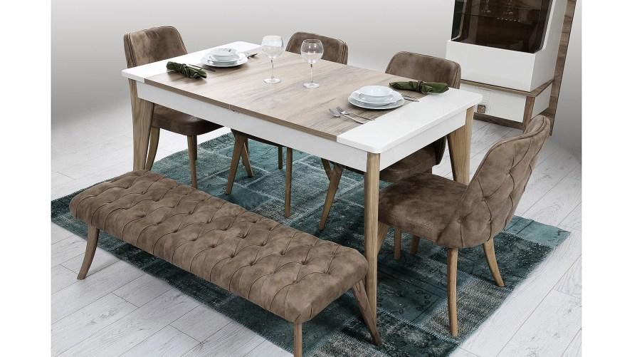 Atlantis Yemek Masası Sandalye Bench
