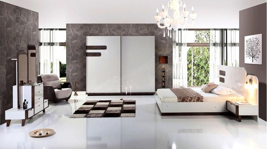 Azra Modern Yatak Odası Takımı Outlet