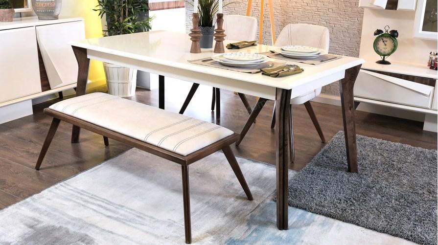 Gama Yemek Masası Sandalye Bench