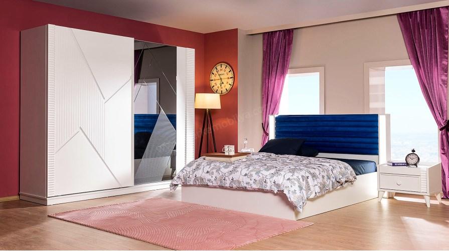 Bont Modern Yatak Odası Takımı Beyaz