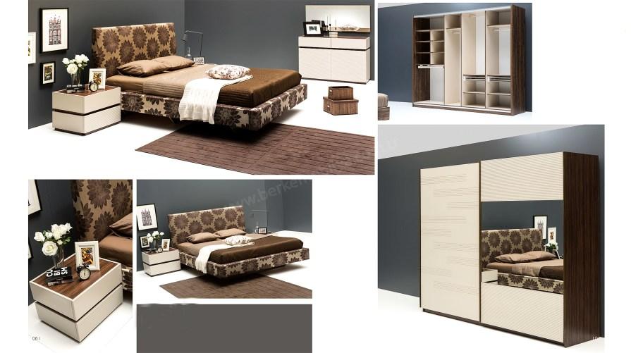 Massa Modern Yatak Odası Takımı