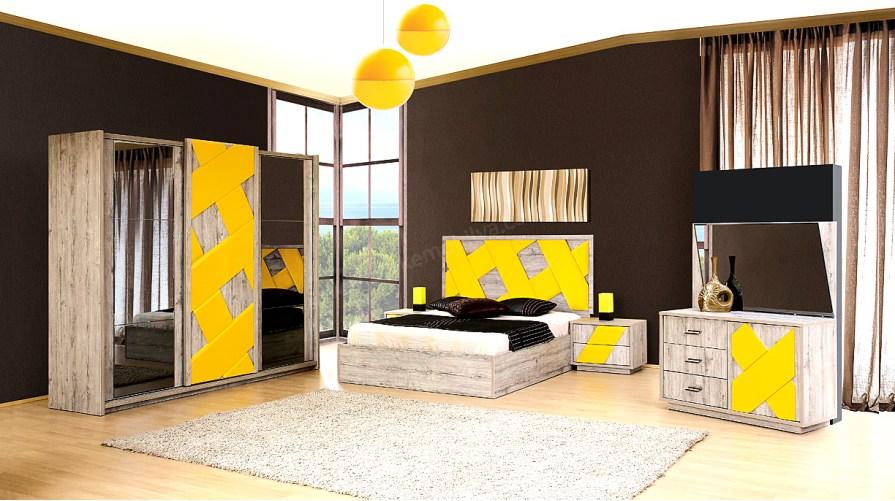 Picassa Modern Yatak Odası Takımı Outlet