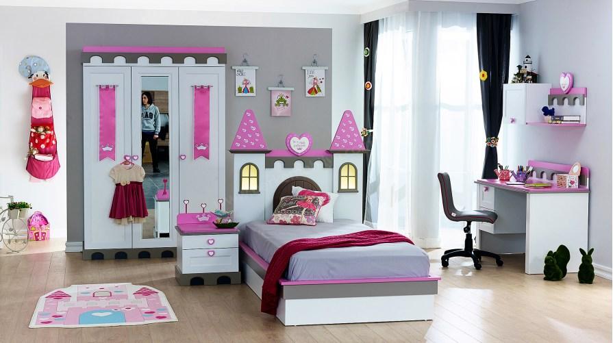 Castle Genç Odası Takımı Mini Set