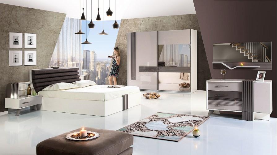 Line Modern Yatak Odası Takımı Outlet