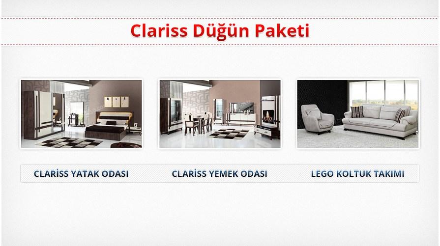 Clariss Düğün Paketi