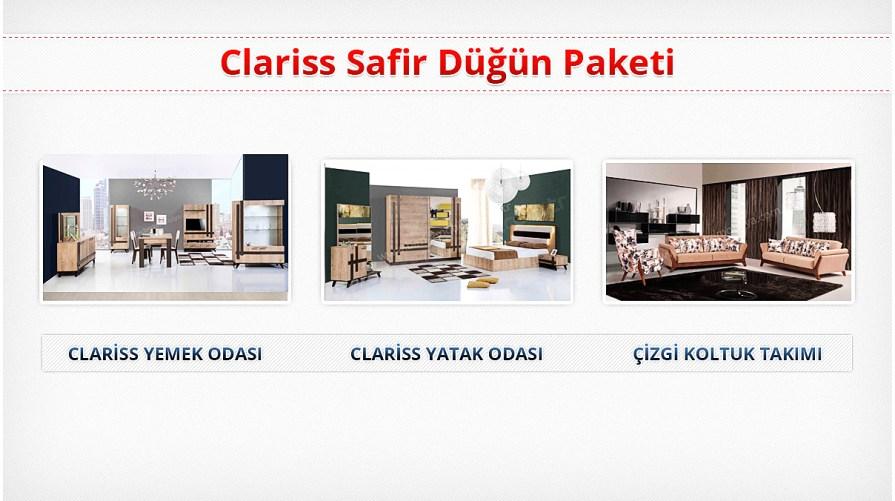 Clariss Safir Düğün Paketi