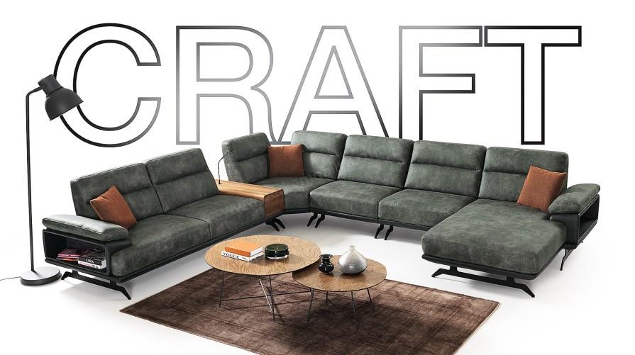 Craft Relax Köşe Koltuk Takımı
