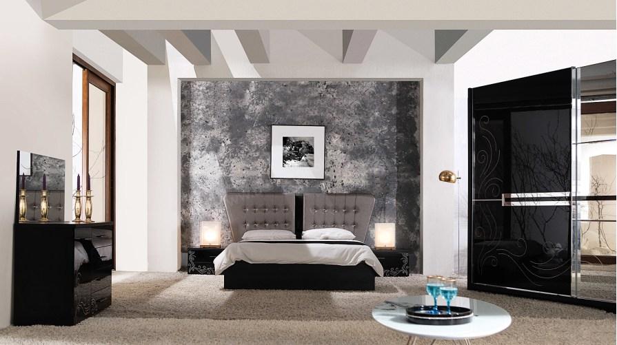 Defnem Modern Yatak Odası Takımı Siyah