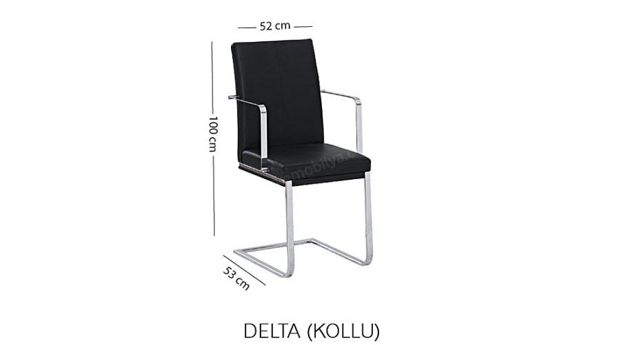 Delta Kollu Sandalye