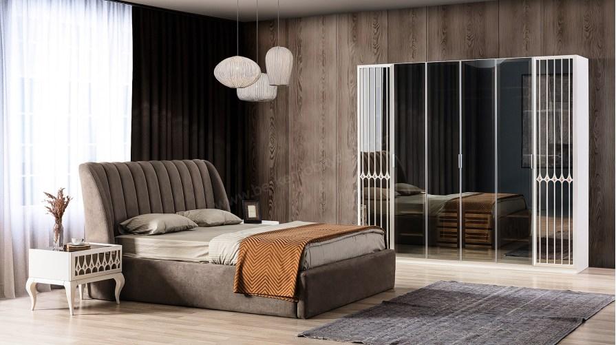 Dupont Ekru Yatak Odası Takımı