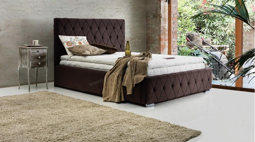 Hilton Bazalı Karyola Ece Yatak Set