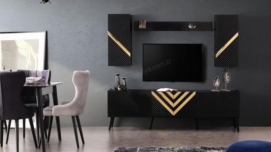 Efsane Siyah Tv Ünitesi