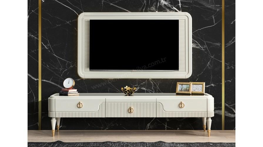 Elegant Ahşap Tv Ünitesi