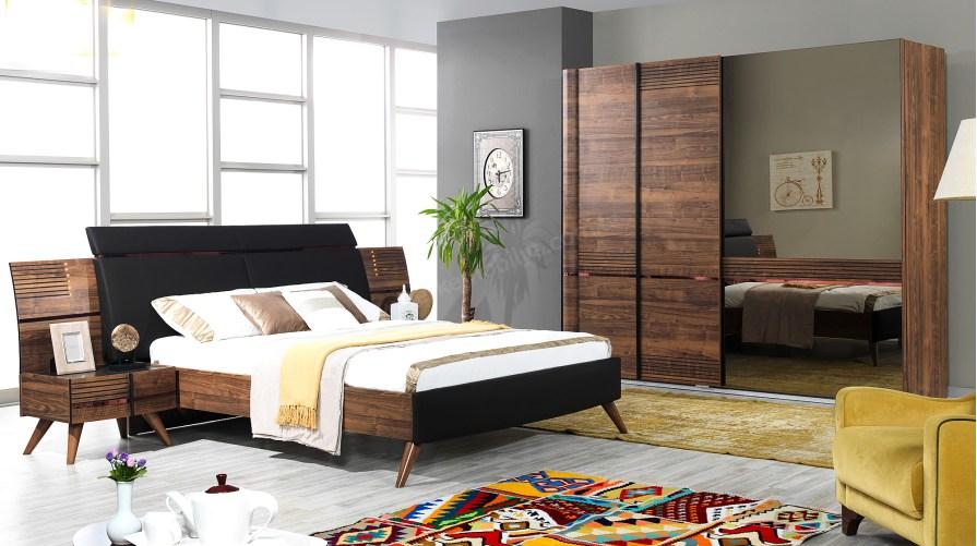 Elis Ceviz Yatak Odası Takımı