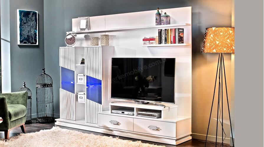 Elit Beyaz Tv Ünitesi